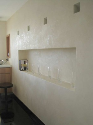 Pitted Polished Plaster